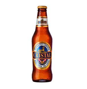 【アンデス山脈の水で造る、爽快ビール!】 クリスタル ビール 5.0% 330ml ペルー産