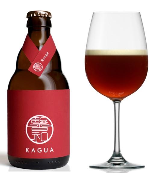 馨和(かぐあ)KAGUA Rouge (赤) 9.0% 330ml 【最上級の和ビール!】