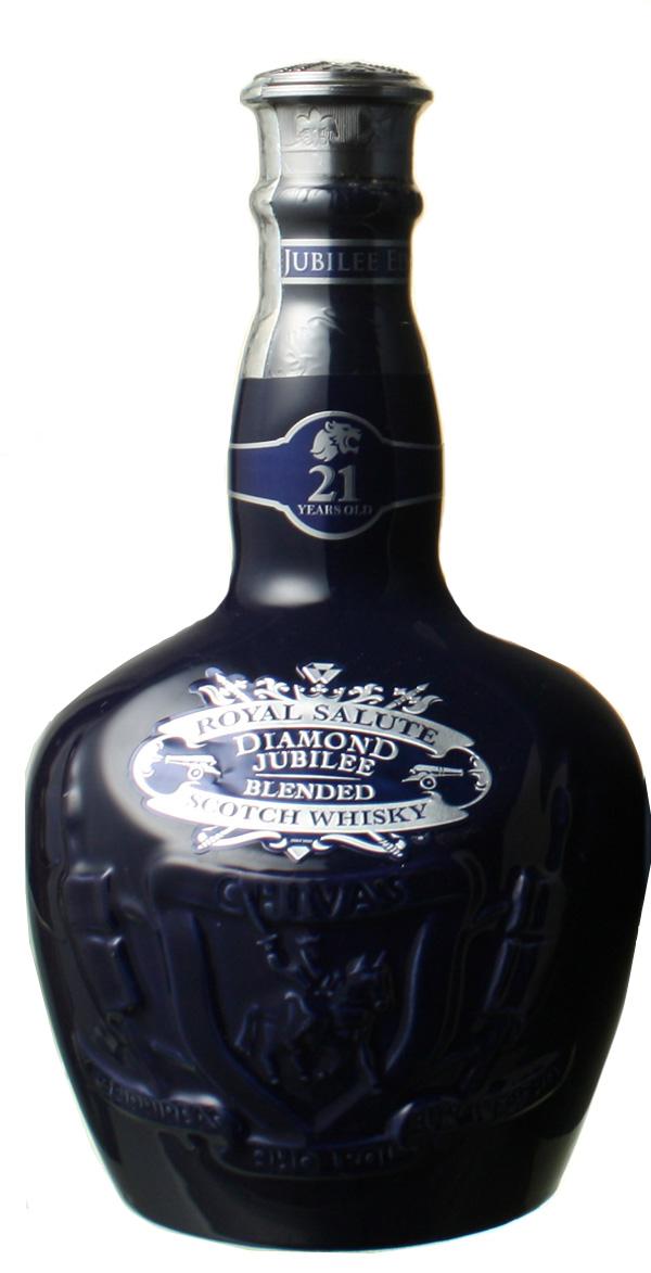 【エリザベス女王即位60周年記念ボトル!】 ロイヤルサルート ダイアモンド ジュビリー 40% 700ml