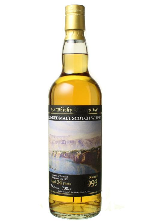 <レアな長熟バ〇ヴェニー> ウイスキーギャラリー バリヴァニーグ(バーンサイド) 1993 54.4% 700ml