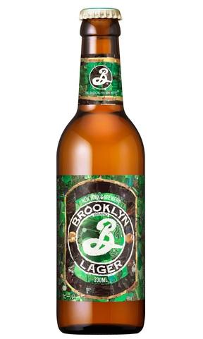 <新ラベル!> ブルックリン ラガー (瓶) 5.0% 330ml ヴィエナ・ラガー タイプ