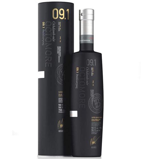 <2019年新登場!> オクトモア 09.1 スコティッシュバーレイ シングルモルト ウイスキー 59.1% 700ml