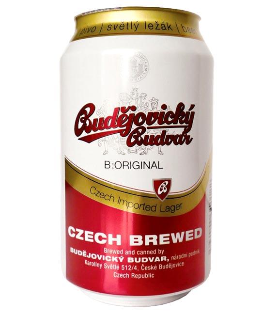 《大感謝祭!限定特価!》 ブドバー チェコビール (缶) 5.0% 330ml