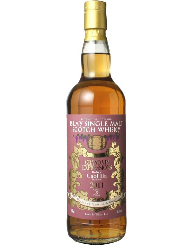 <マルゴー村の赤ワイン樽で3年追熟!> カリラ 2011 マルゴークラレットカスクフィニッシュ 59.3% 700ml