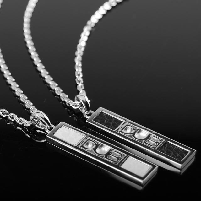 受注生産(オーダー) シルバー silver925 シルバーアクセサリー ネックレス ペア ペアネックレス ペアアクセサリー DUBCollection DUB DUBj-212-Pair