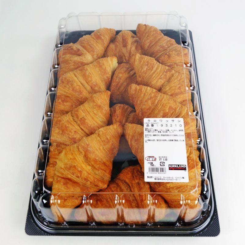 コストコ COSTCO カークランド ショップ 芳醇なバターの香り クロワッサン 12個入り 特価品コーナー☆