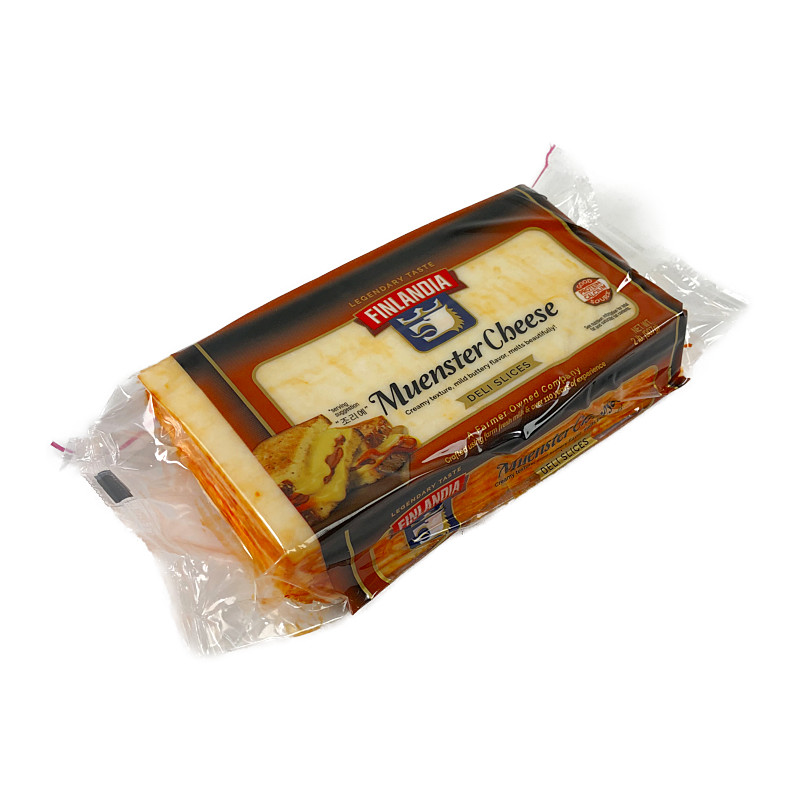 ミュンスター スライスチーズのパッケージ