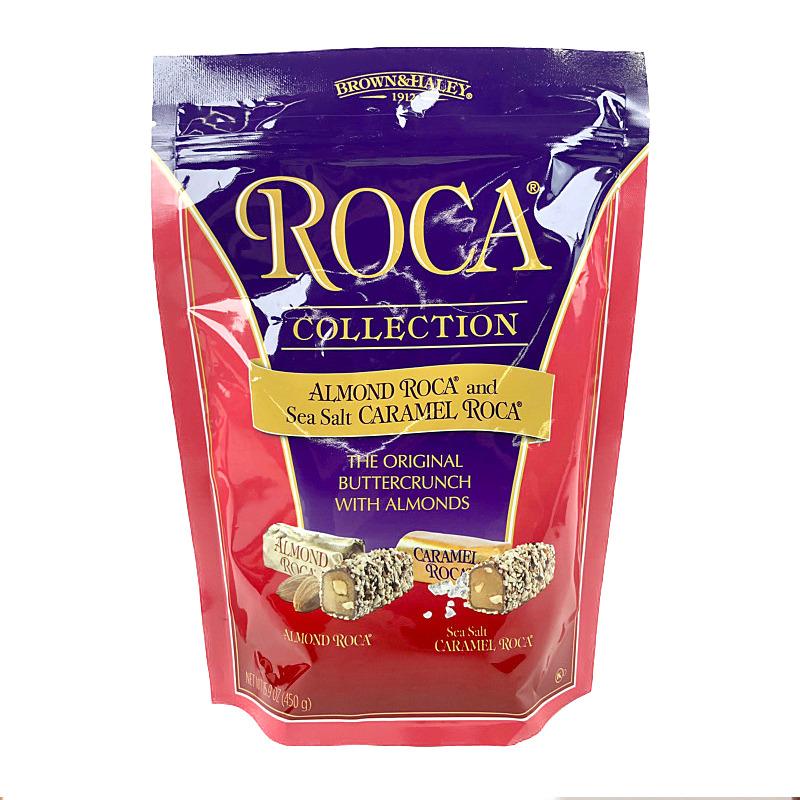 コストコ 春の新作 COSTCO ローカー コレクション アーモンド ソルテッド Collection 価格 ROCA キャラメル 450g BROWNHALEY Almond