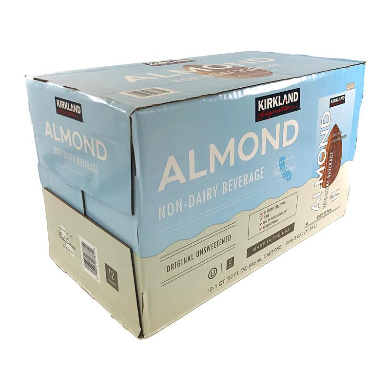 コストコ COSTCO KIRKLAND カークランド アーモンドミルク 手数料無料 無糖 946ml×12本 オンライン限定商品 Almond Bev KS Unsweetened