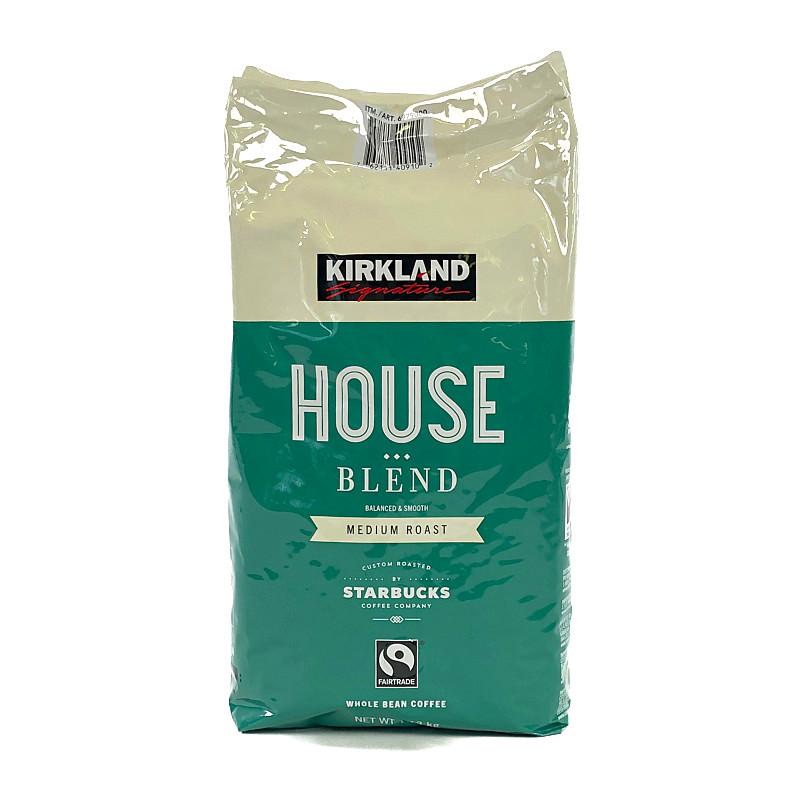 コストコ COSTCO カークランド スターバックスロースト ハウスブレンドコーヒー 豆 ミディアムロースト 増量 KS STARBUCKS BLEND 1.13kg 激安価格と即納で通信販売 実物 HOUSE