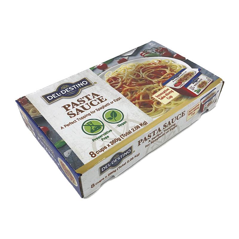 コストコ COSTCO トマト パスタソース 着後レビューで 送料無料 260g×8個 DEL Pasta Sauce 直送商品 DESTINO Tomato