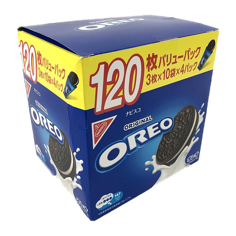 コストコ COSTCO ナビスコ 信憑 オレオ 半額 バニラクッキー OREO Vanilla Cream 30枚×4個
