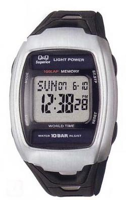 Citizen Q & Q digital watch MSL1J101