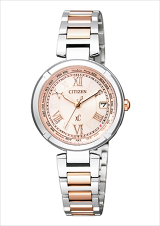 Citizen  CITIZEN watches xC cross sea Eco-Drive eco-drive radio watch  TITANIA LINE HAPPY FLIGHT series EC1114-51 W women s cash on delivery  shipping is ... 74d016e9e9