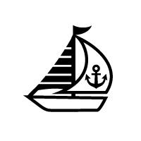 お名前スタンプ(よくばりプレミアム22本セット) ヨット 【ネームスタンプ 名前はんこ】 (子供 幼児 小学生 幼稚園 男の子 入学祝い)