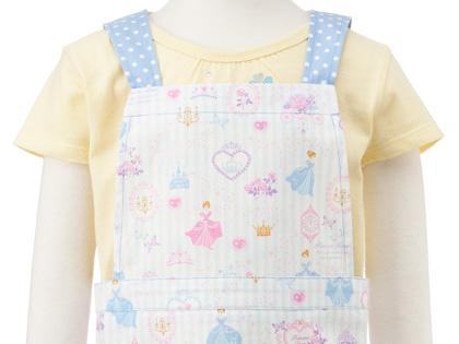 3988e02650891 バッククロスエプロン(100~120cm)プリンセスドレスで彩るパウダールーム(ストライプ