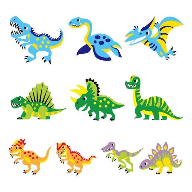 50%OFF SALE お名前シール 新作 新着セール スタンダード アイロンタイプ 148ピース 恐竜大集合 子供用 ネームラベル 名前 入園準備 シール ラベル 子供 入学準備 幼児