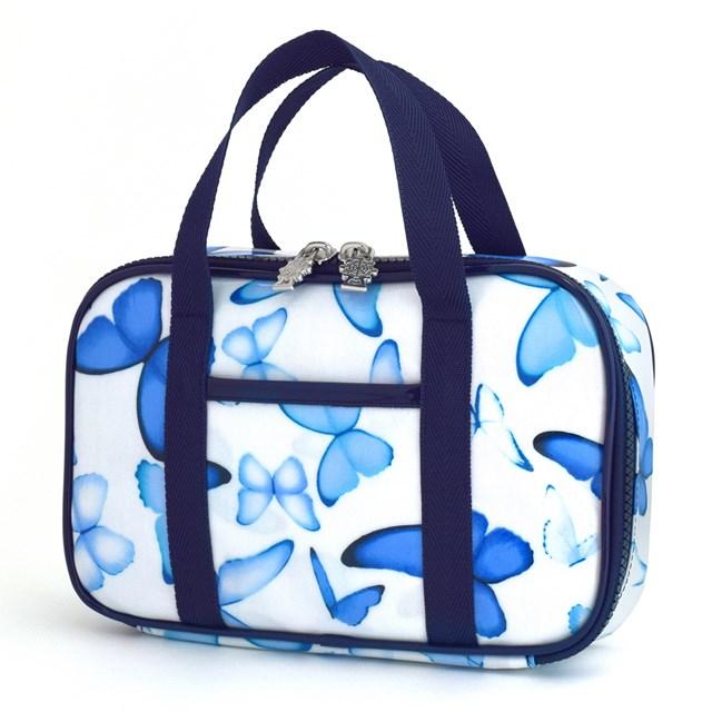 裁縫 ソーイングバッグ ブルーバタフライ 子供用 裁縫バッグのみ 在庫限り 小学生 さいほうバッグ ソーイングセット かわいい 優先配送 おしゃれ 裁縫道具 小学校