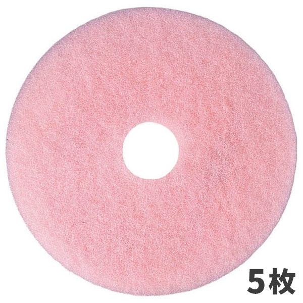 【単品配送】 3M スコッチブライト イレーザーバーニッシュ パッド ピンク 14インチ (5枚入 @1枚あたり \2134) E/B_355X82