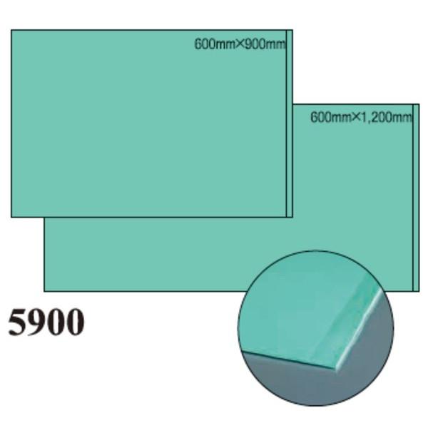 【単品配送】 3M ソールマット 5900 ライトグリーン 600×1200mm (6マット入 @1マットあたり \21266.7) 5900_600X1200