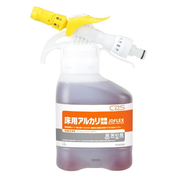 CxS シーバイエス JD-FLEX JDフレックス 床用アルカリ除菌洗剤 1.5L (4本入) 4166585