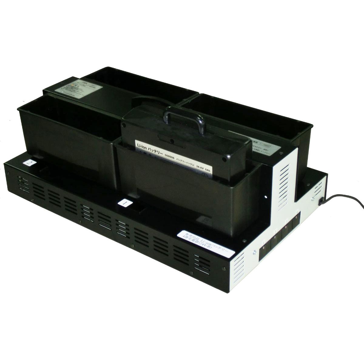 ペンギンワックス 4連充電器 CLC6264 バッテリーパックLS626/LV626用 8998