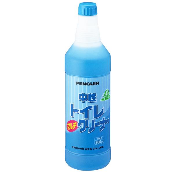 強力中性タイプ トイレルームの洗浄はこれ一つで 業務用 洗剤 人気上昇中 掃除 トイレ用 単品配送 @1本あたり 中性トイレマルチクリーナー 5288 ペンギンワックス 12本入 \495 800ml 再入荷 予約販売