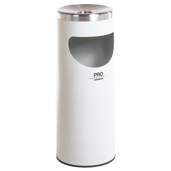 テラモト スタンド灰皿 プロコスモスL 中缶なし 白 SS-265-020-5