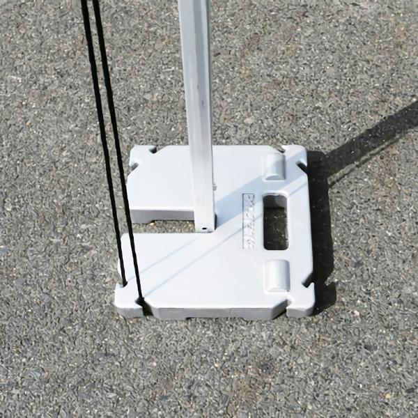 テラモト かんたんてんと 加重プレート 鋳物 10kg (代引不可) MZ-590-810-0