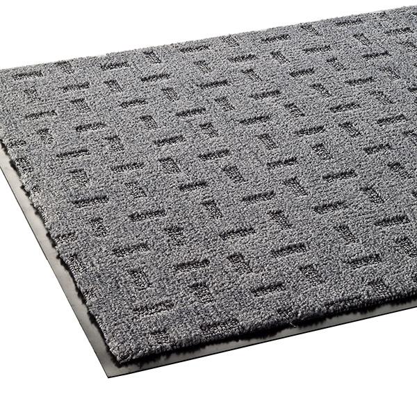 テラモト 雨天用マット エコレイン 900×1800mm グレー MR-026-148-5