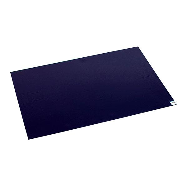 テラモト 粘着マットシートBS 青 60枚層 工場用 600×900mm (4枚入) MR-123-740-3