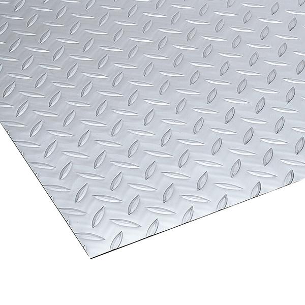 テラモト リサイクル長マット 縞鋼板シルバー 915mm×20m (代引不可) MR-157-120-5