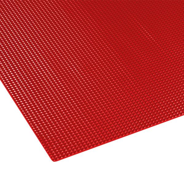 テラモト ビニール長マット ピラミッド 91cm×20m 赤 (代引不可) MR-141-156-2