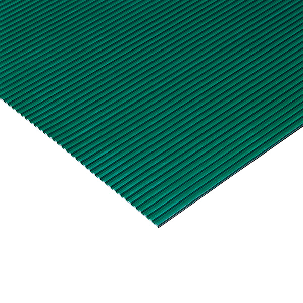 テラモト 筋入ゴム 5mm厚 1.2m×20m 緑 (代引不可) MR-142-220-1