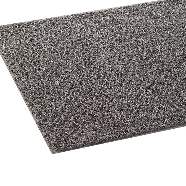 テラモト ケミタングル ソフト フチなし 90cm巾×6m 灰 (代引不可) MR-139-255-5
