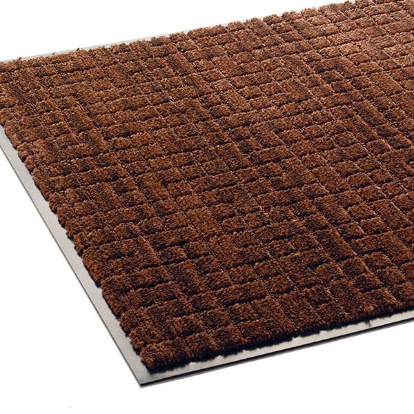 テラモト 雨天用マット ネオレイン 900×1500mm ブラウン MR-031-046-4