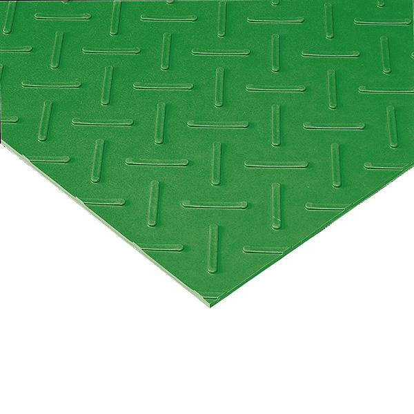 テラモト エスゴムマット 5mm厚 1m×10m 緑 (代引不可) MR-151-105-1