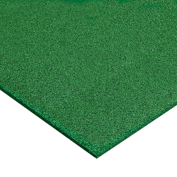 【単品配送】 テラモト ゴムチップランナー2 10mm厚 1m×10m 緑 MR-132-310-1
