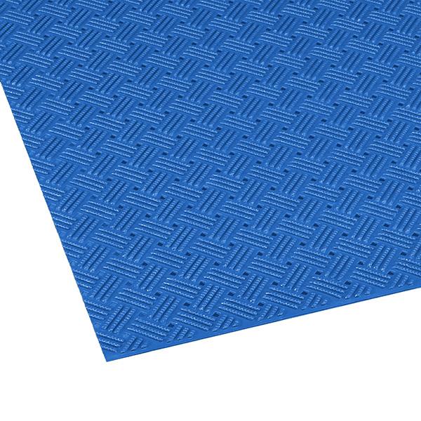 テラモト ダイヤマットグリッド 92cm×10m 青 (代引不可) MR-159-000-3