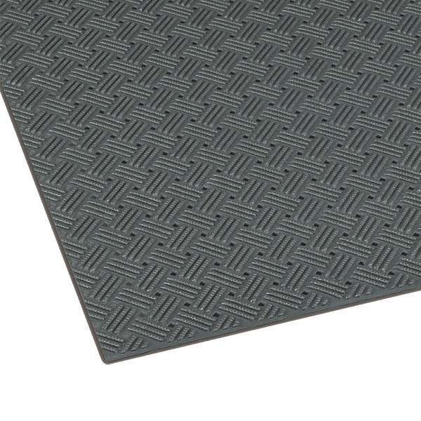 テラモト ダイヤマットグリッド 92cm×10m 灰 (代引不可) MR-159-000-5