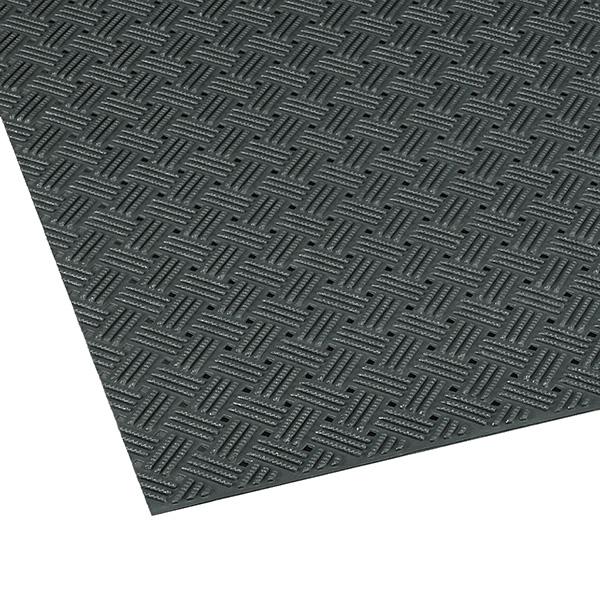 テラモト ダイヤマットグリッド 92cm×10m ライトグリーン (代引不可) MR-159-000-9