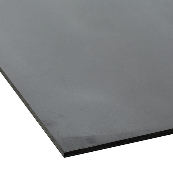 テラモト 平ゴムマット 天然 5mm厚 1m×10m (代引不可) MR-152-310-7