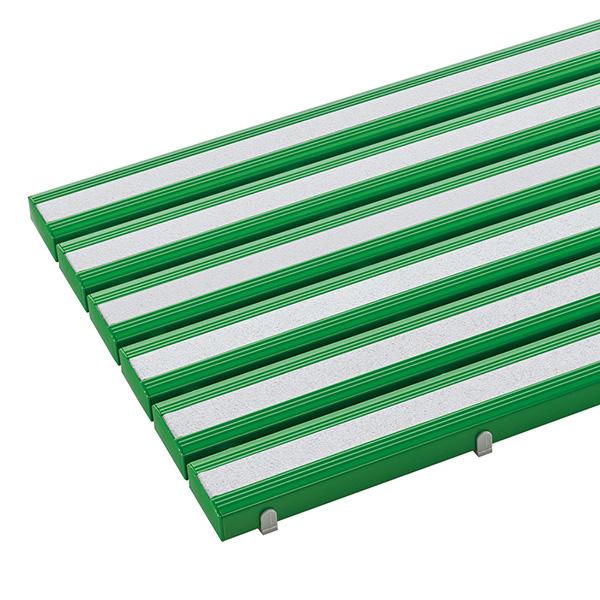 テラモト 抗菌すべり止め安全スノコ お客様組立品 オーダーサイズ 1平米/価格 緑 MR-098-380-1