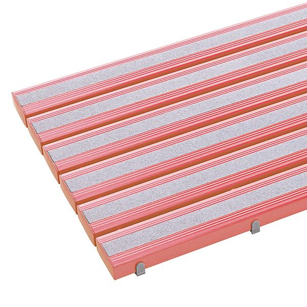 テラモト 抗菌すべり止め安全スノコ 完成品 600×1200mm ピンク (代引不可) MR-098-443-5