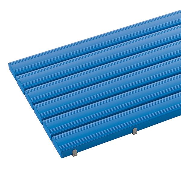 テラモト 抗菌安全スノコ お客様組立品 600×1800mm 青 (代引不可) MR-093-245-3