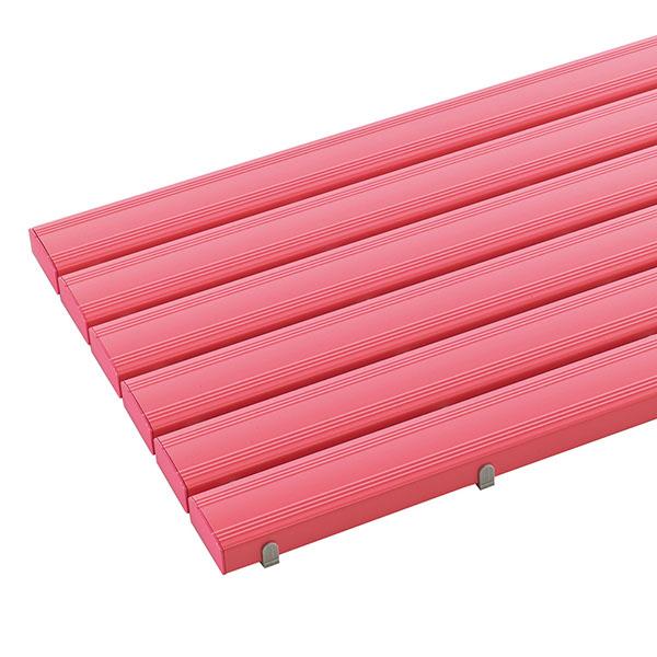 テラモト 抗菌安全スノコ お客様組立品 オーダーサイズ 1平米/価格 ピンク (代引不可) MR-093-280-5