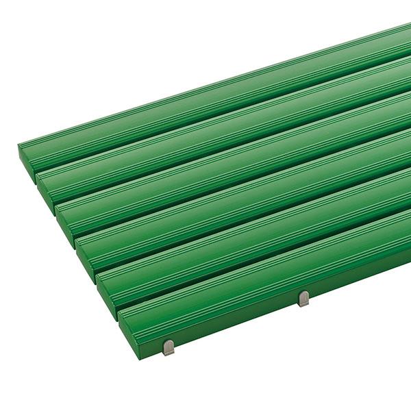 テラモト 抗菌安全スノコ 完成品 600×1800mm 緑 (代引不可) MR-093-345-1
