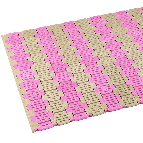 テラモト ソフト巻き取りマット オーダーサイズ 1平米/価格 ベージュピンク MR-072-080-7