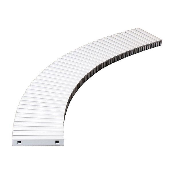 【単品配送】 テラモト 樹脂グレーチング (プール用) 250mm幅 250×1000mm ホワイト MR-074-025-8