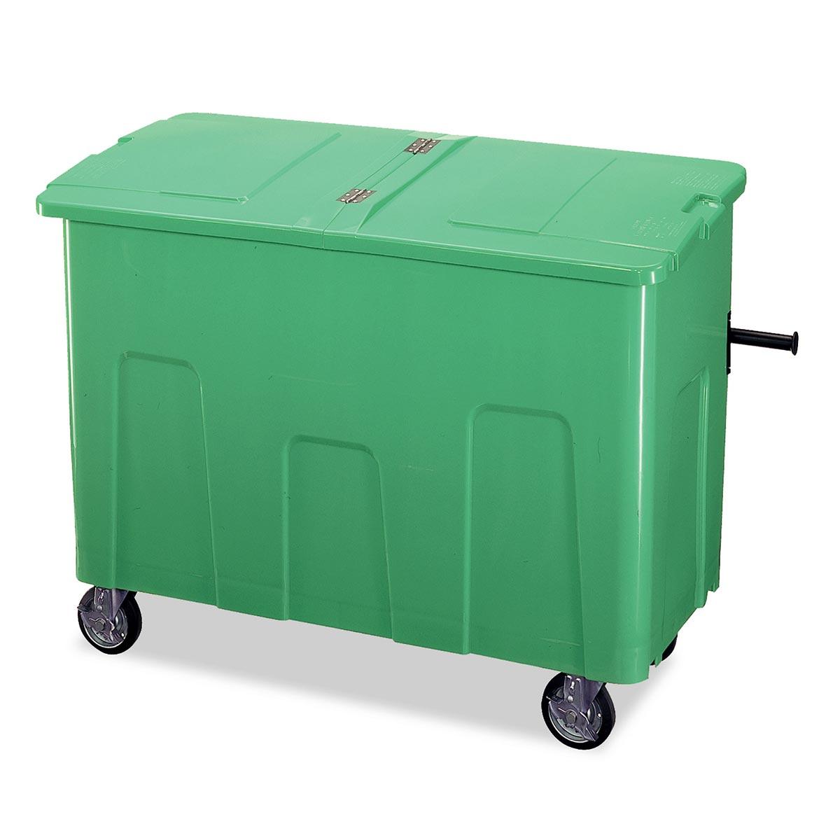 テラモト リサイクルカートアウトバー 0.7(約700L) グリーン (代引不可) DS-224-070-1